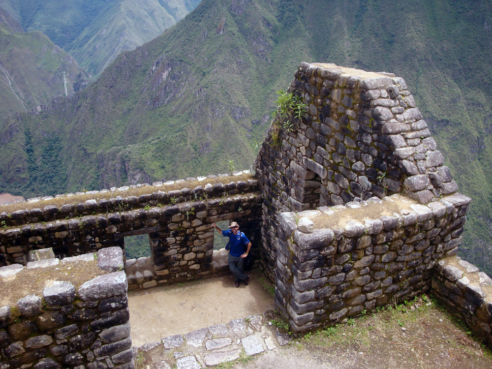 Image of Inside the ruins towards the top of Huayna Picchu