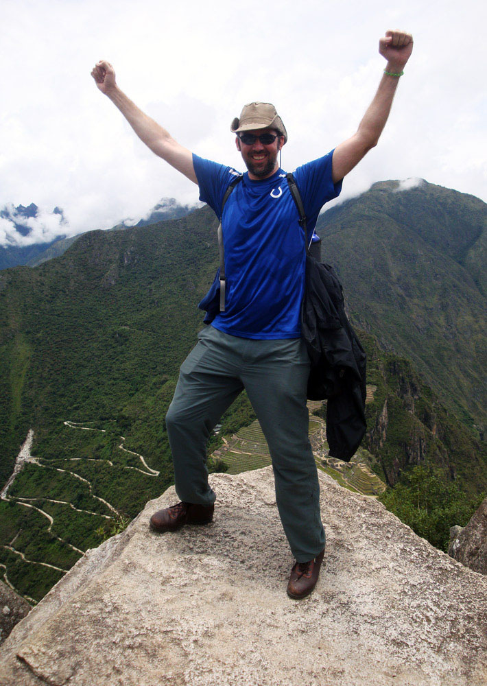 Image of Image of At the very tiptop of Huayna Picchu.