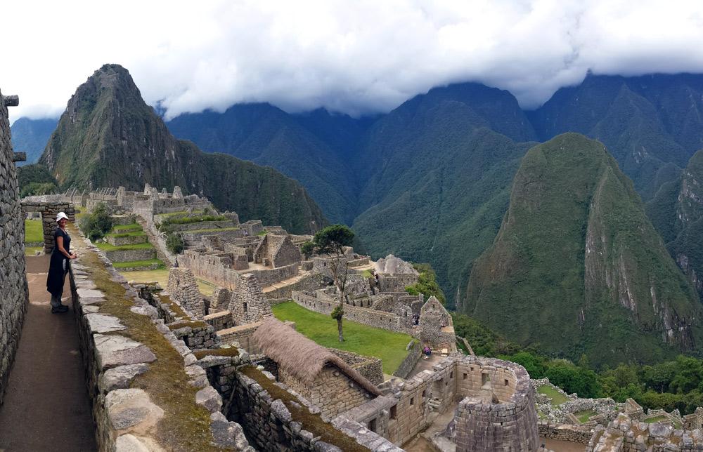 Image of Julie at Machu Picchu