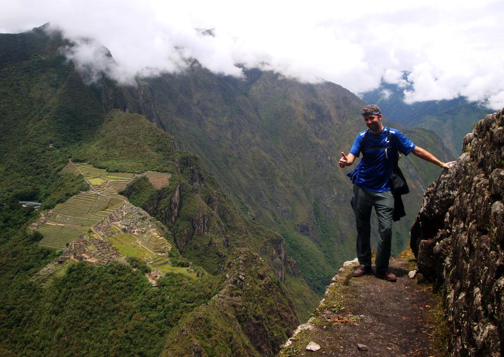 Image of Mark on Huayna Picchu