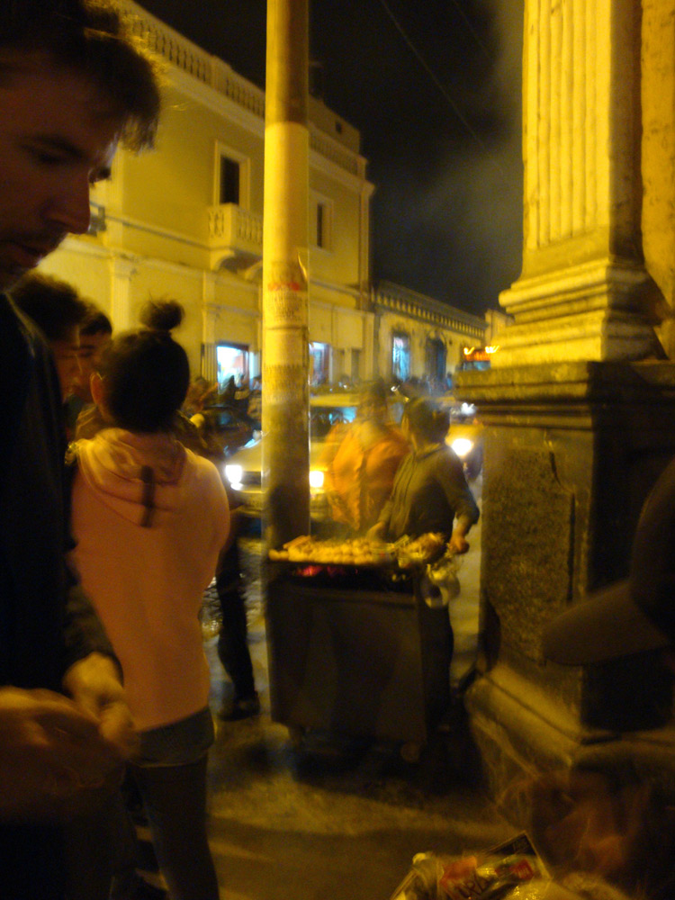 Image of street food in Arequipa