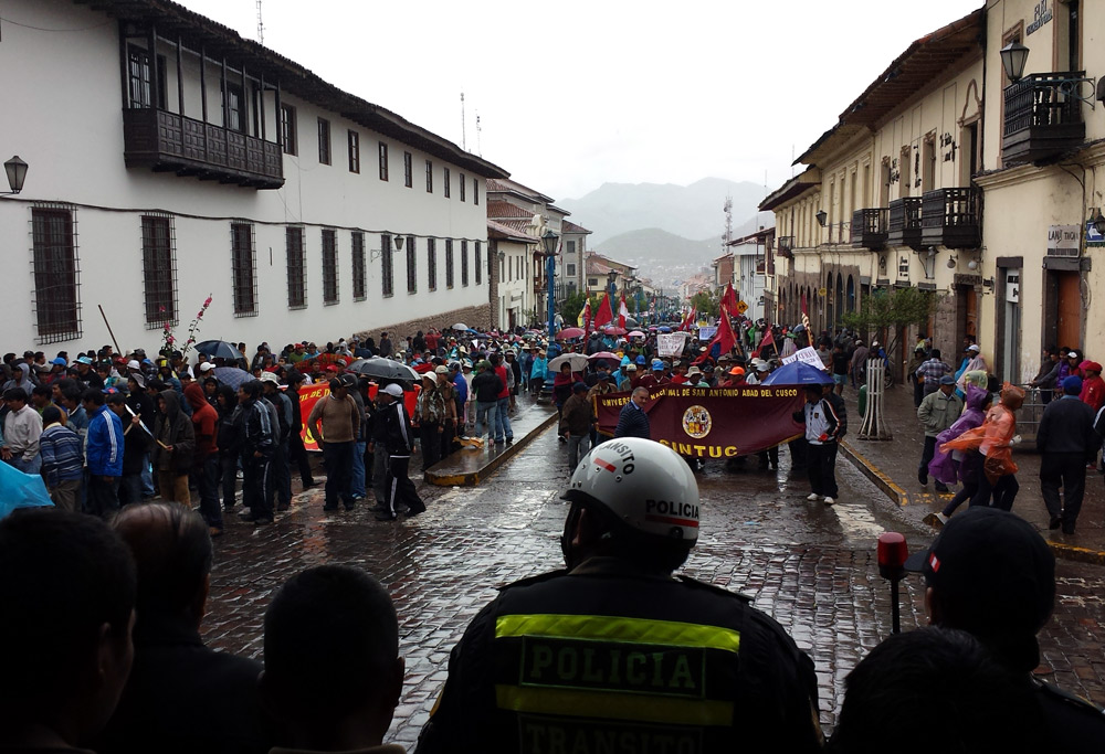 Image of Cusco Protest