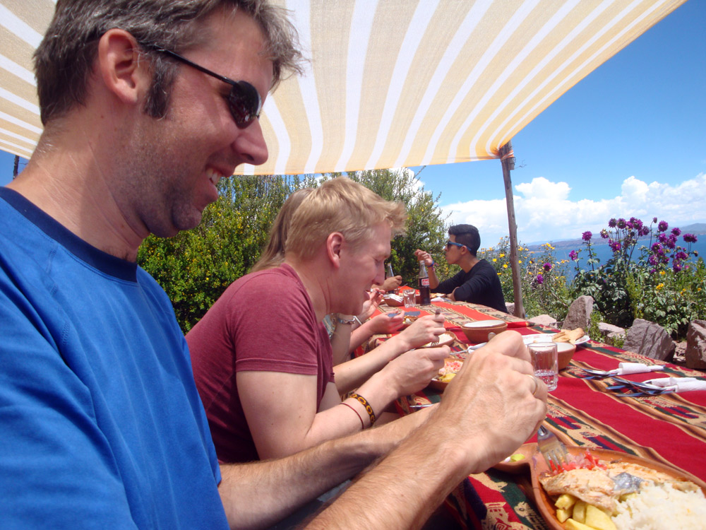 Image of lunch on Tequile