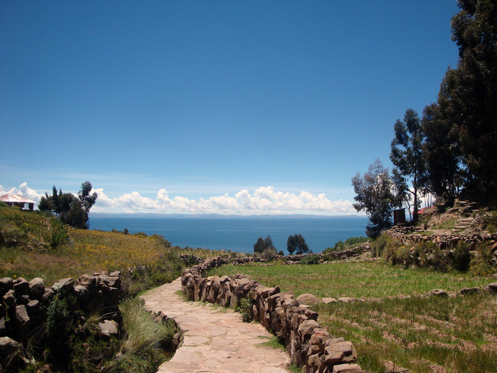Image of Titicaca from Tequile
