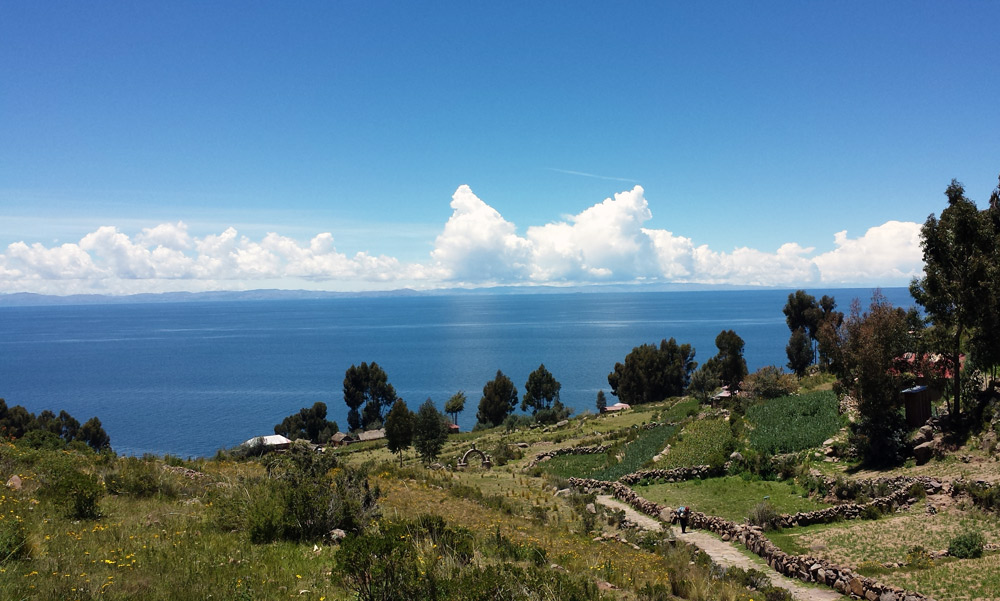 Image of Lake Titicaca
