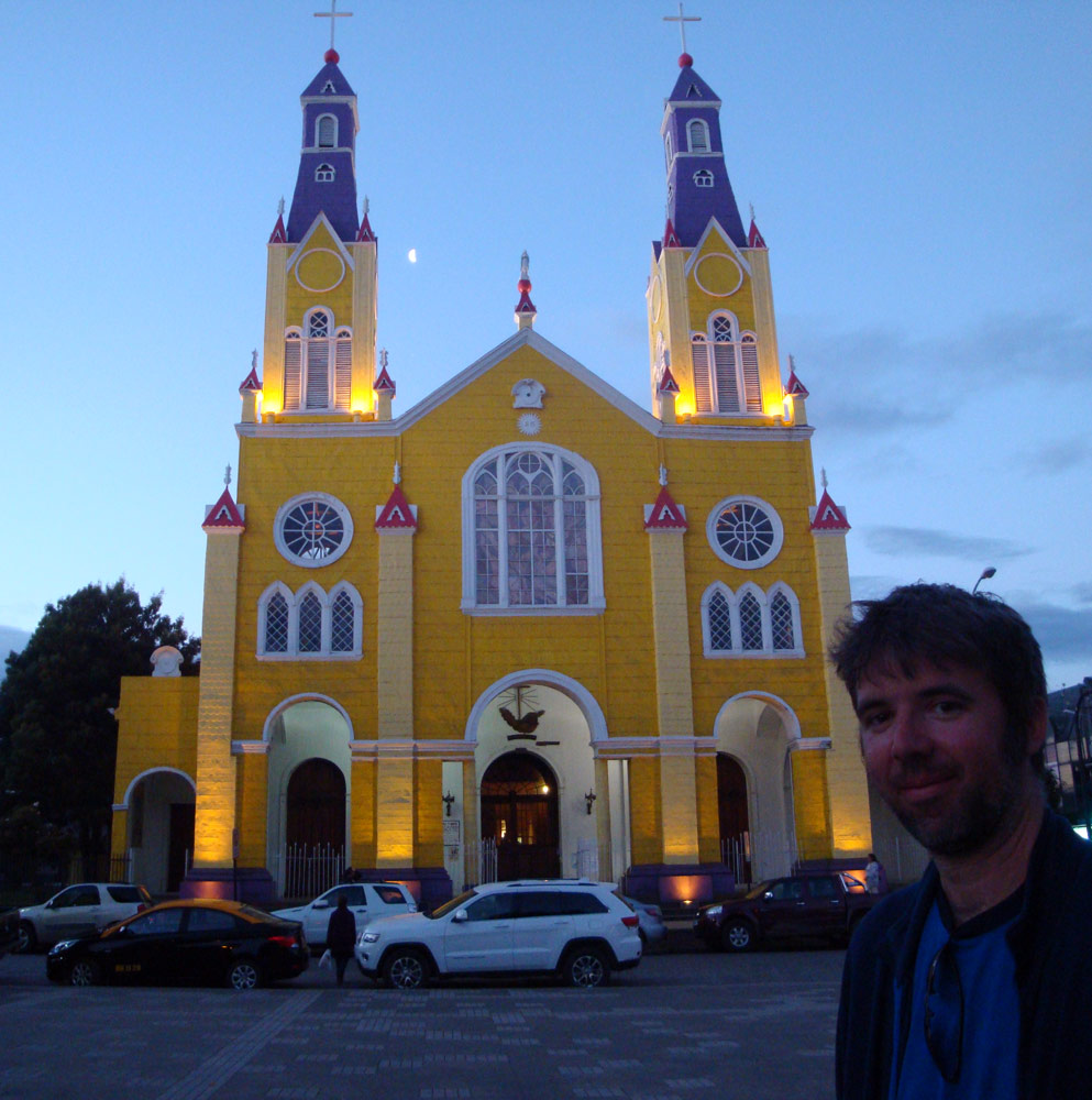 Image of church Castro Chile