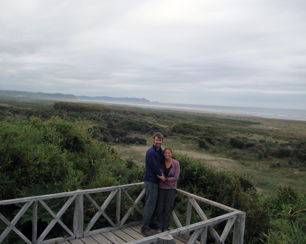 Image of The Pacific Ocean from Chiloe National Park