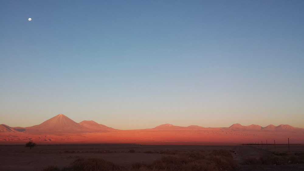 Image of San Pedro de Atacama at Sunset