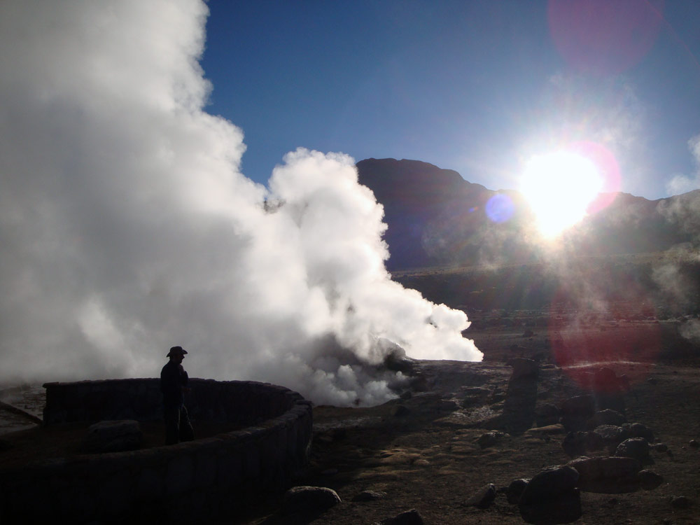 Image of Mark at El Tatio