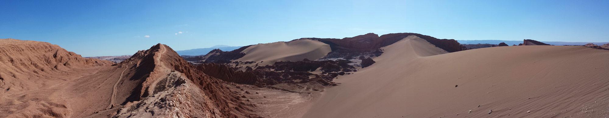 Image of Panorama from Valle de la Luna.