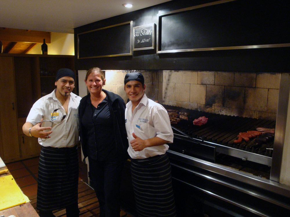 Image of With our very capable grillmasters.