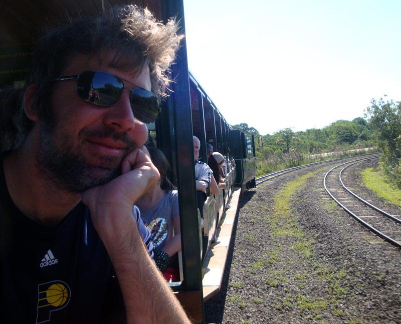Image of The train ride to Garganta del Diablo.