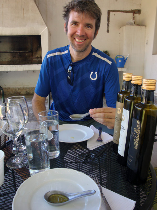 Image of Mark and olive oil