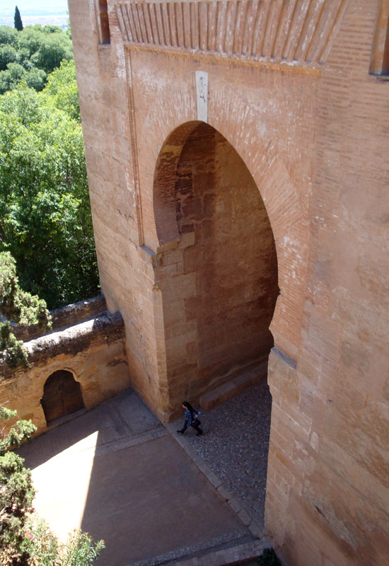 Image of Alhambra entrance