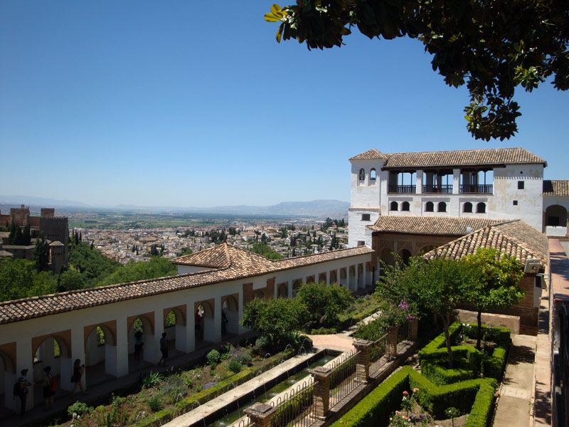 Image of the Generalife