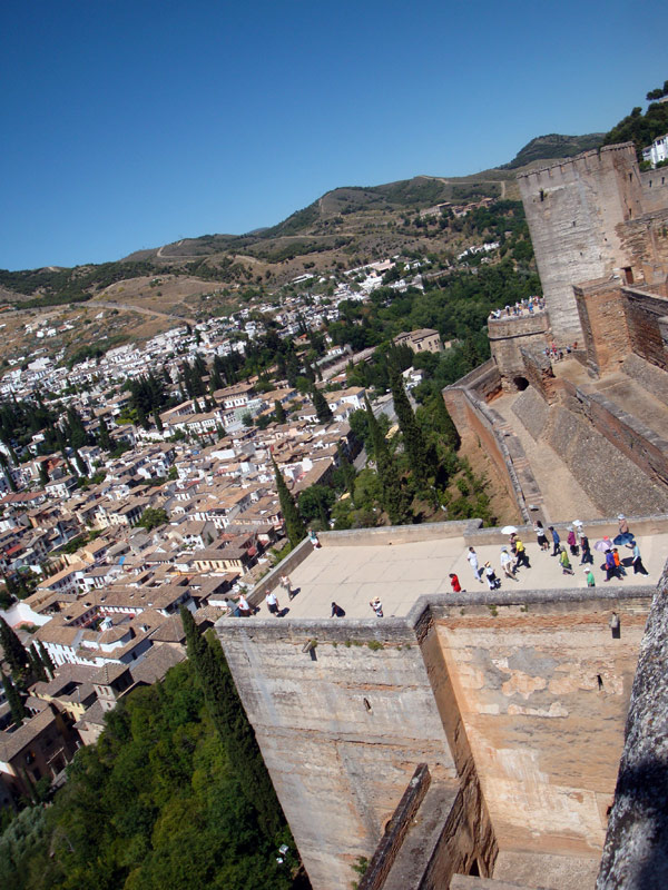 Image of the Alhambra and Granada