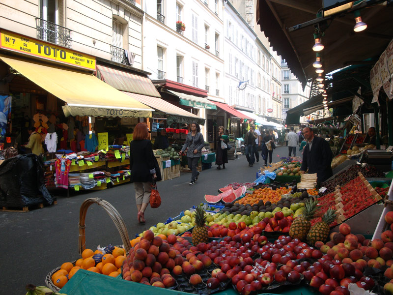 Image of Paris market.