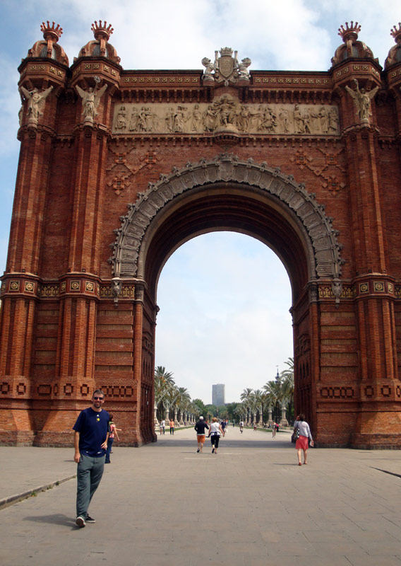 Image of Arc de Triomf