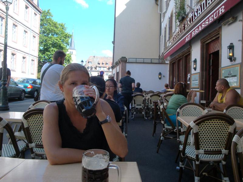 Au Brasseur in Strasbourg