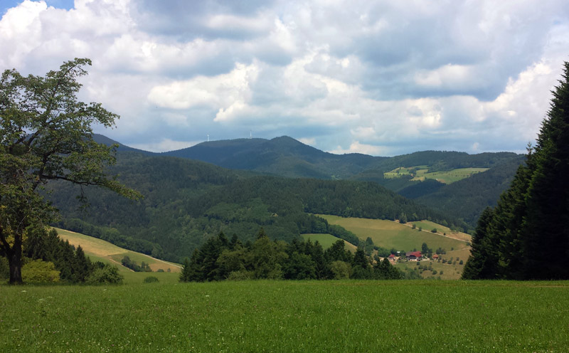 Image of Hills above Fischerbach