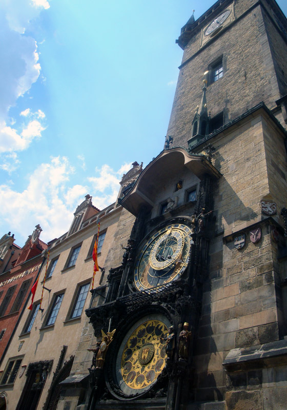 Image of The Astronomical Clock.