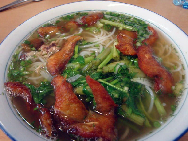 Image of Fried fish pho at Sapa Market.