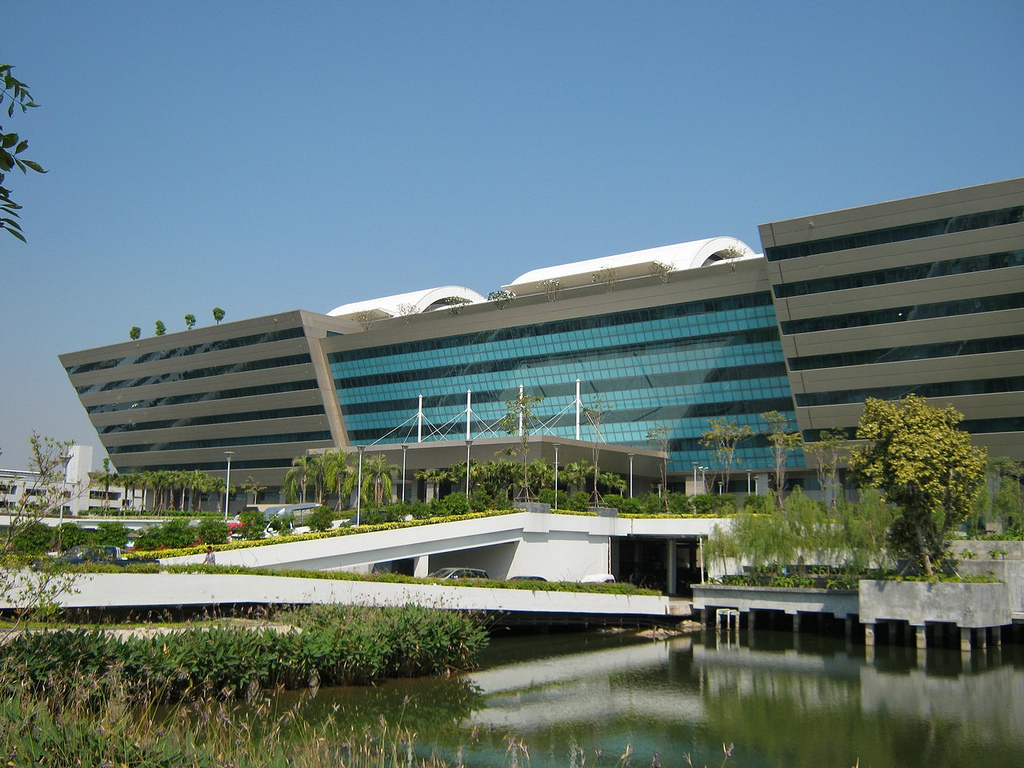 Image of The Government Complex in Bangkok