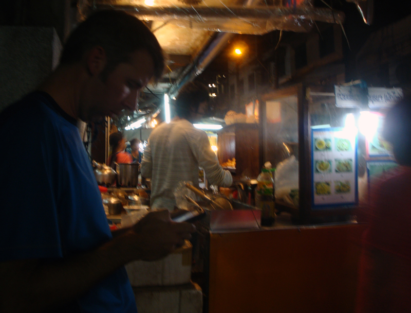 Image of food stand in Bangkok