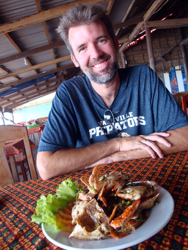 Image of Mark and Crab