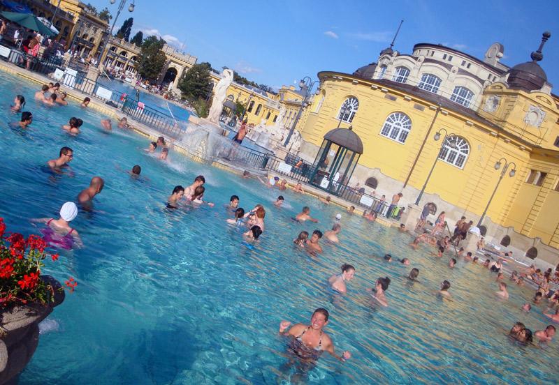 Image of Széchenyi Baths Budapest Hungary