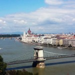Budapest: Fried Dough, Fireworks and a Friend Comes to Visit
