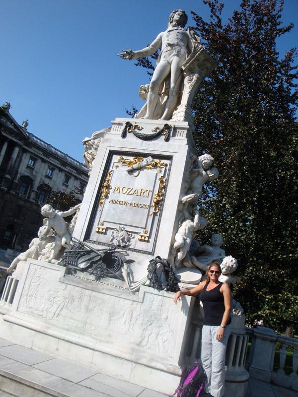 Image of Mozart Statue Vienna