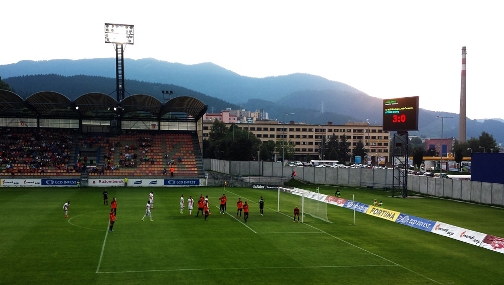 Image of slovakia ruzomberok mfk stadium