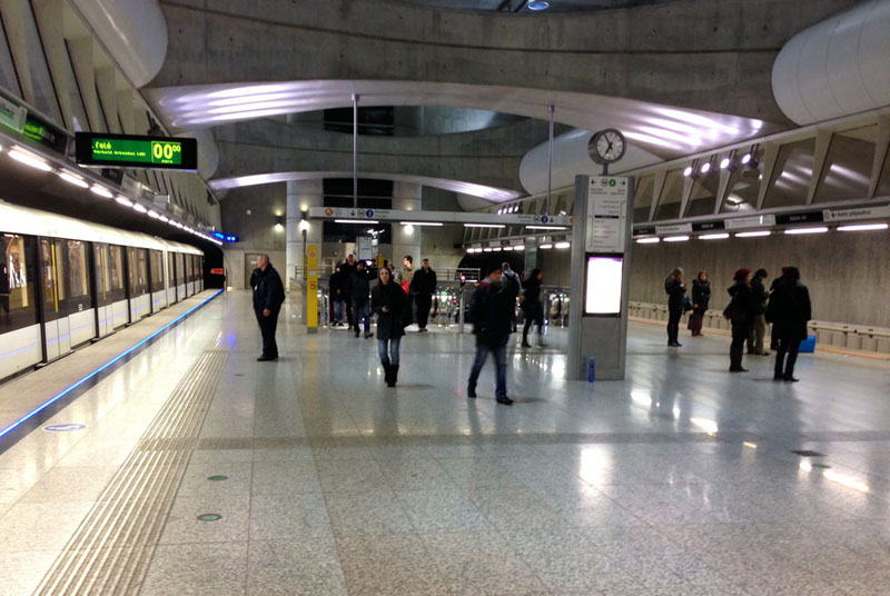 Image of Budapest Line 4 New Station