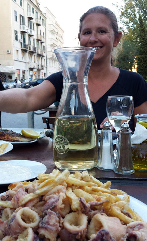 Image of Calamari in Split, Croatia