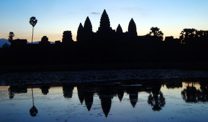 Image of Angkor Wat at Sunrise