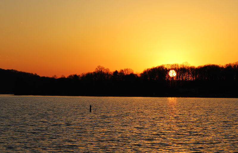 Image of Sunset on Lake Lemon