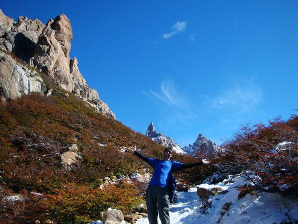 Image of mountains around Bariloche, Argentina.
