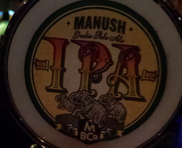 Image of Manush IPA Beer Tap