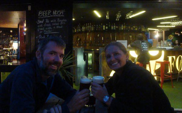 Image of drinking beer in Wellington, New Zealand