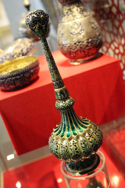 Image of Rosewater shaker from Islamic Art museum in Kuala Lumpur