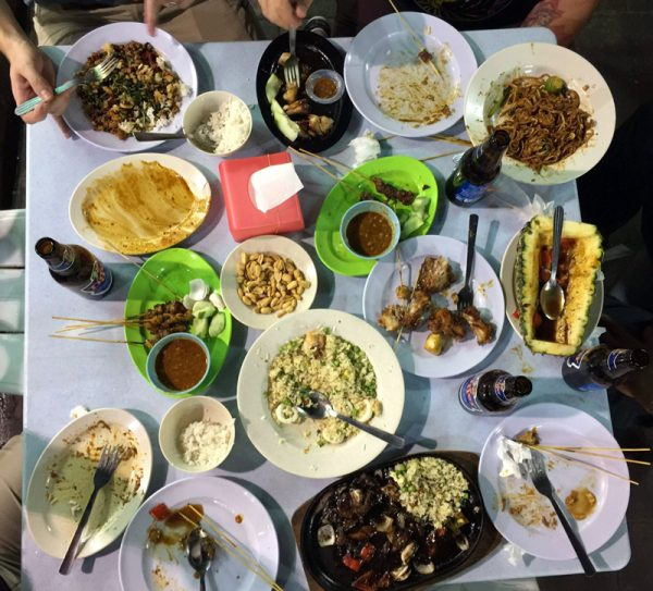 Image of Malay food on Jalon Alor