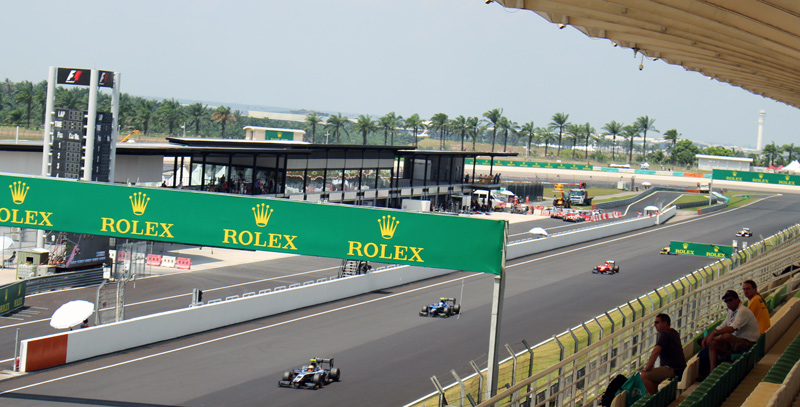 Malaysia: Formula 1 Grand Prix, Chinese Food, and Humidity