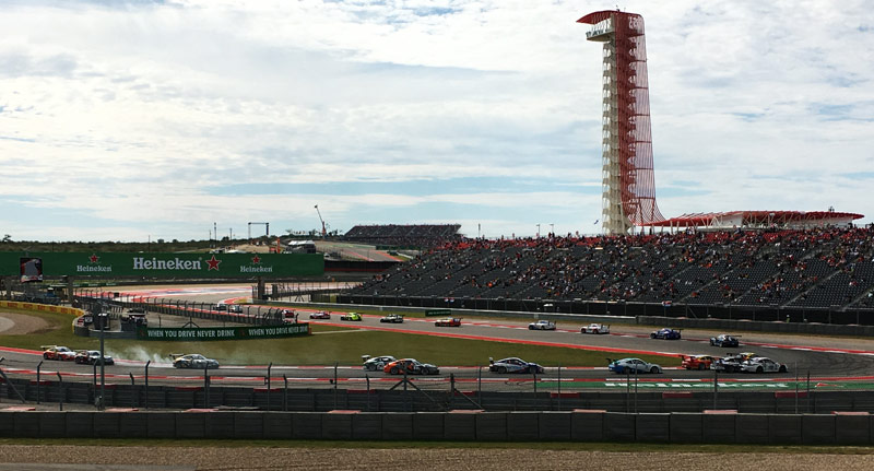 Austin Formula 1 at Circuit of the Americas BBQ Tacos Burgers