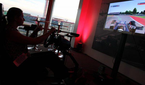 Image of Video Game Racing in COTA Club