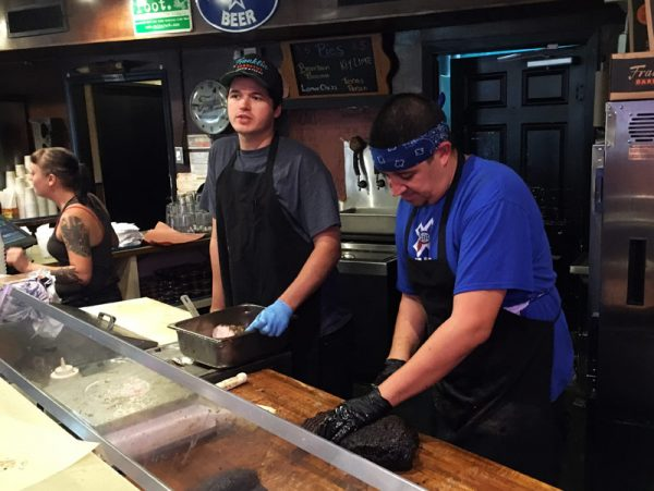 Image of Counter crew at Franklin BBQ