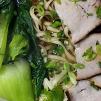Recipes from the Road: Food Stall Chinese Noodle Soup