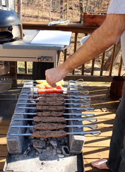 Image of Grilling Adana Kebabs