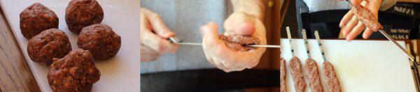 Image of Molding Adana Kebab Skewers